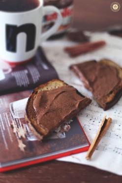 Chleb gryczany z cynamonem