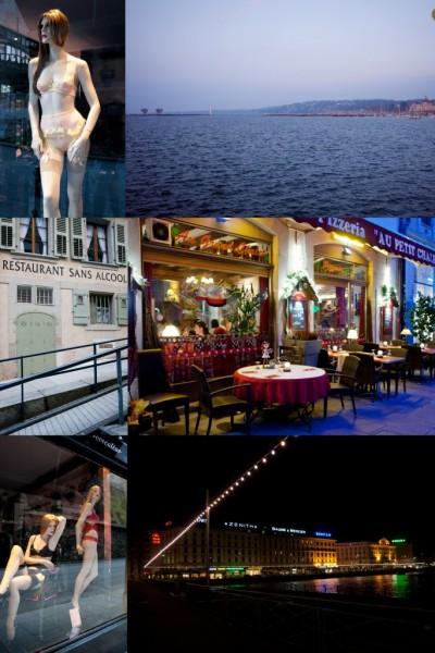 Restauracja Au Petit Chalet w Genewie