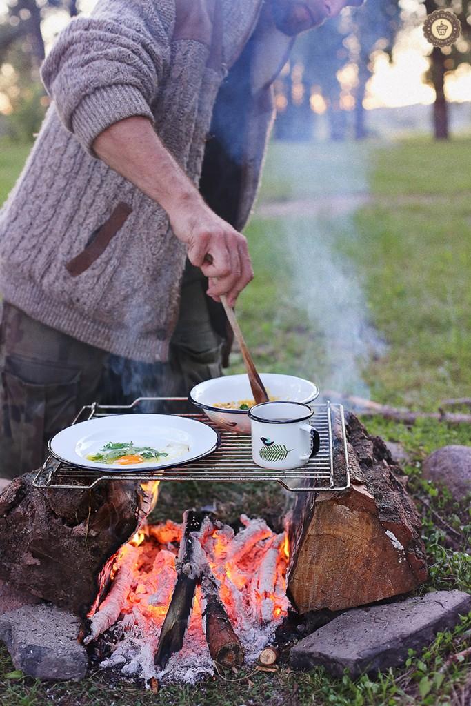 Campfire Breafast